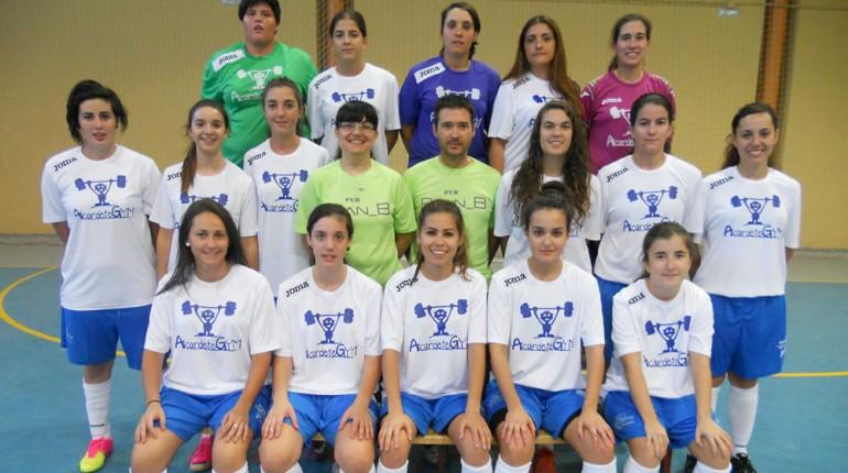 Electroabad patrocina el equipo femenino federado